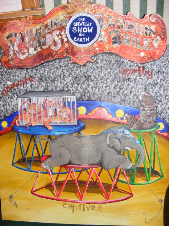Student Artist Slams Ringling Cruelty, Wins Top Prize