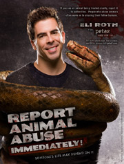 Eli Roth's Anti-Violence Ad for peta2