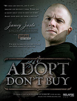 Jamey Jasta of Kingdom of Sorrow