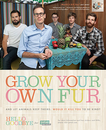 Hellogoodbye's 'Grow Your Own Fur' Ad
