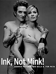 Ink, Not Mink! Ad