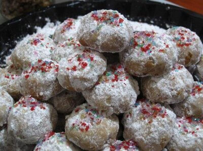 Mexican Wedding Cake Cookies