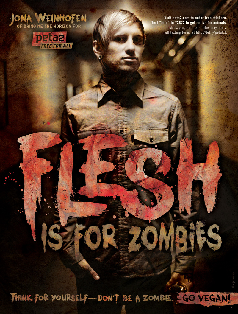Jona Weinhofen: Flesh Is for Zombies