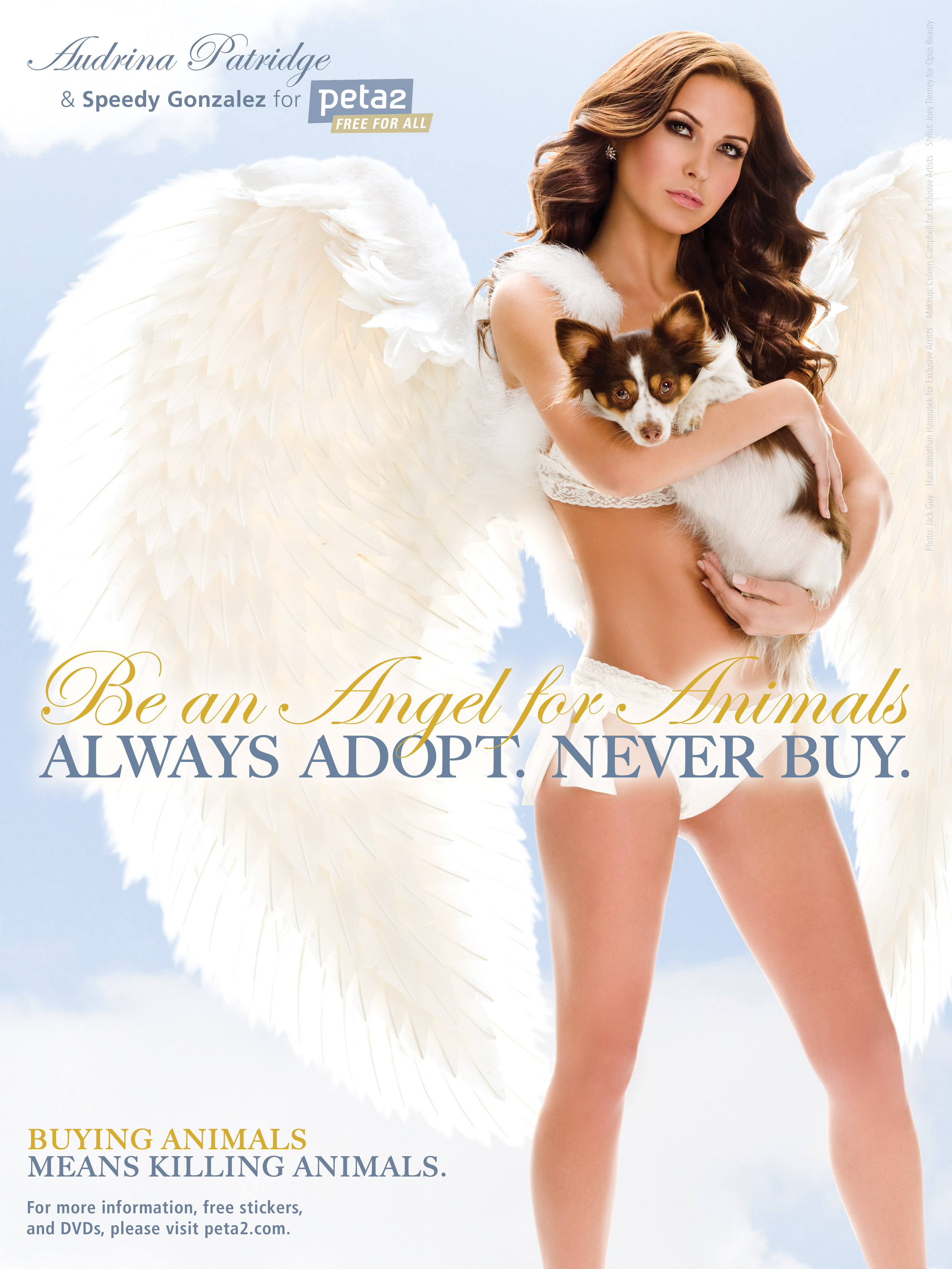 Audrina Patridge Be An Angel peta2 Ad