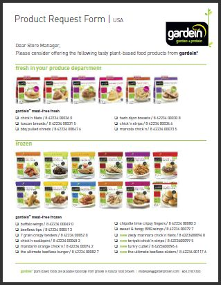 gardein has a plethora of delicious vegan meats like turk'y, chk'n, bbq pulled shreds and beefless tips