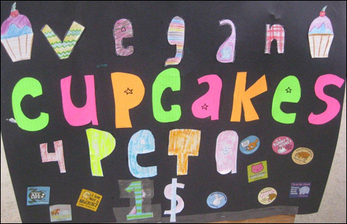 Use Cupcakes to Save Animals!