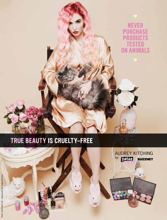 Audrey Kitching: Cruelty-Free Beauty