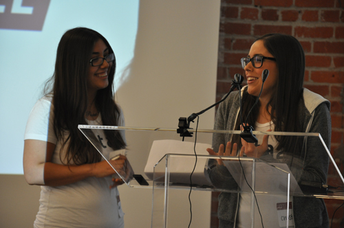 Street Team staff speak at Los Angeles event