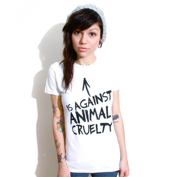 win dirty shirty's against animal cruelty shirt from peta2