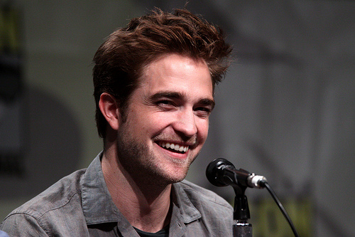 robert pattinson creative commons