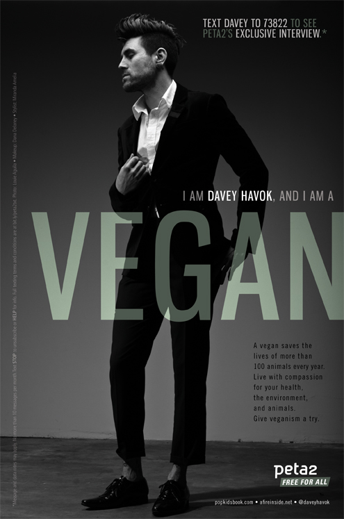 davey havok vegan psa peta2