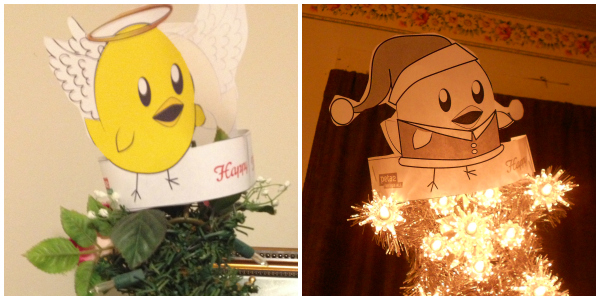 nugget tree topper examples