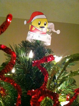 Santa Nugget tree topper