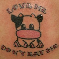 dont eat me tattoo