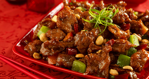 Vegetarian-Plus-Vegan-Kung-Pao-Chicken
