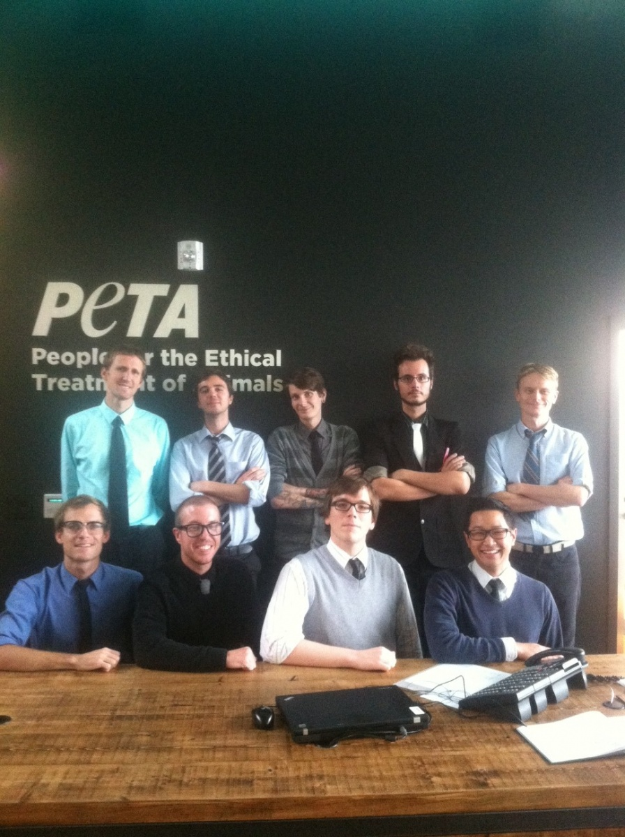 Tie-Day Friday in the LA Office