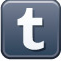Tumblr icon button