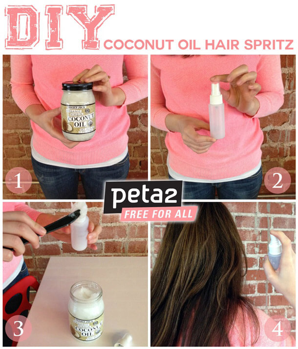 Coconut Oil Hair Spritz