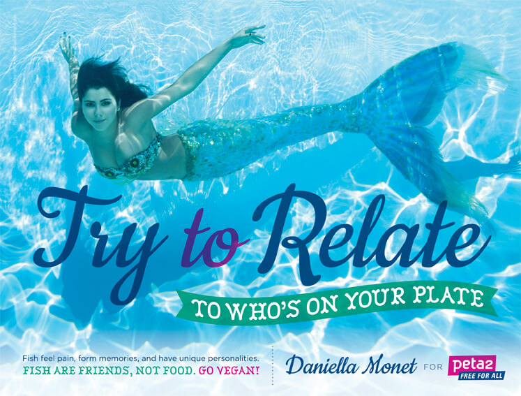 "Daniella Monet ""Try To Relate"" peta2 PSA"