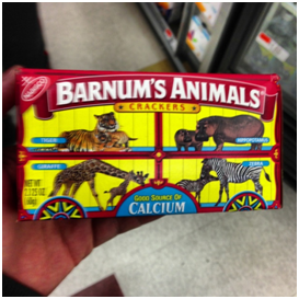 "My tweet said, ""This should say, 'Barnum's abused, beaten, and shackled animals!'"""