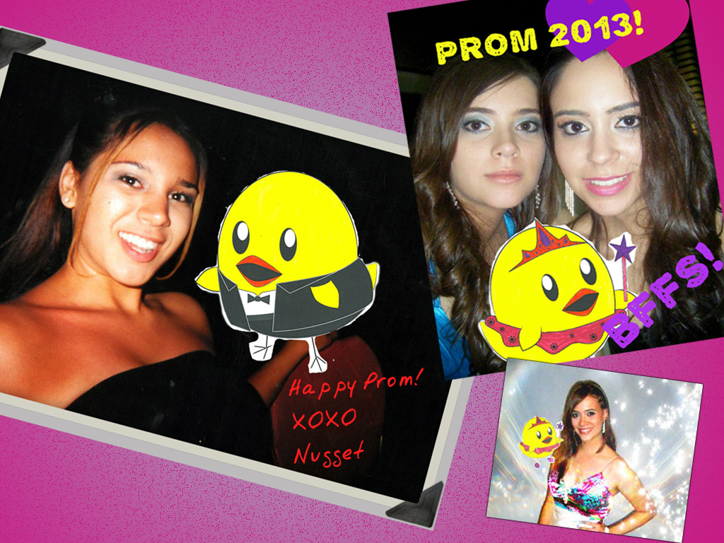 peta2 Street Team Take Nugget to Prom Mission example collage