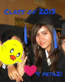 peta2 Nugget printout Mission graduation photo