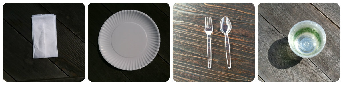 utensils-napkins-plates-cups-collage