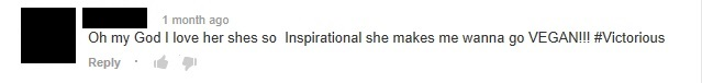 awesome comment daniella monet video