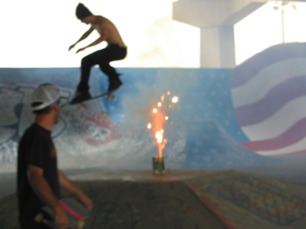 skateboarder Independence Day 4th of July