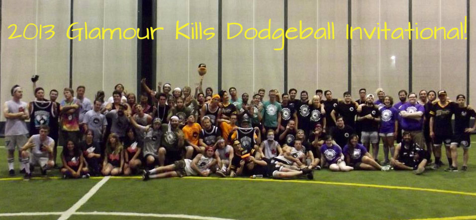 glamour kills dodgeball event