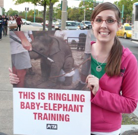 ringling bros protest