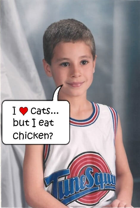 Tylor as a child