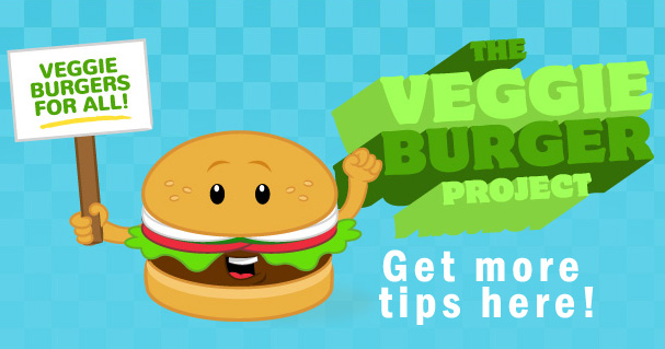 veggie burger project promo