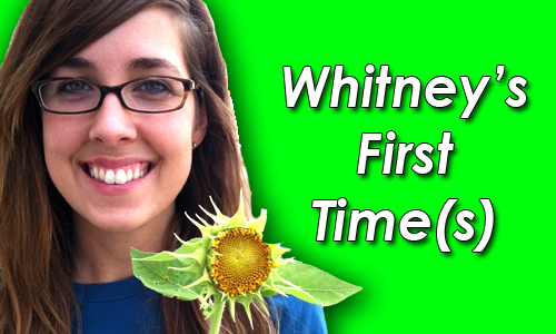 whitney vegan firsts