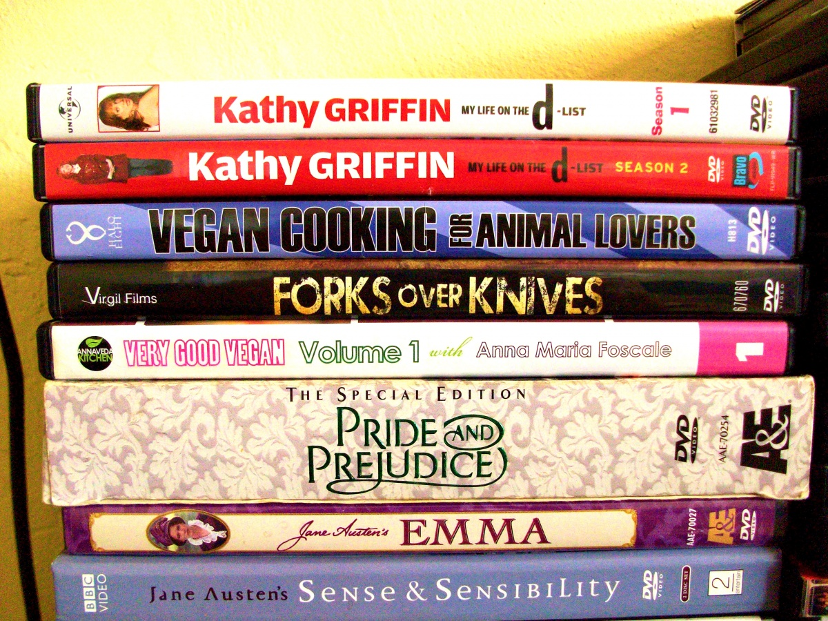 peta2 vegan food dvds
