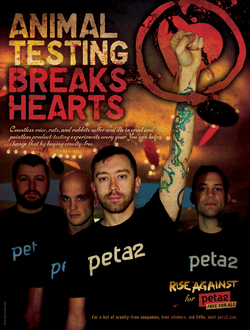 Rise against animal testing breaks hearts psa