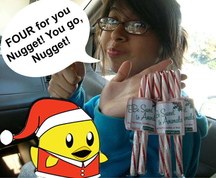candy canes peta2 mission