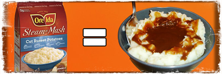microwave easy mashed potatoes