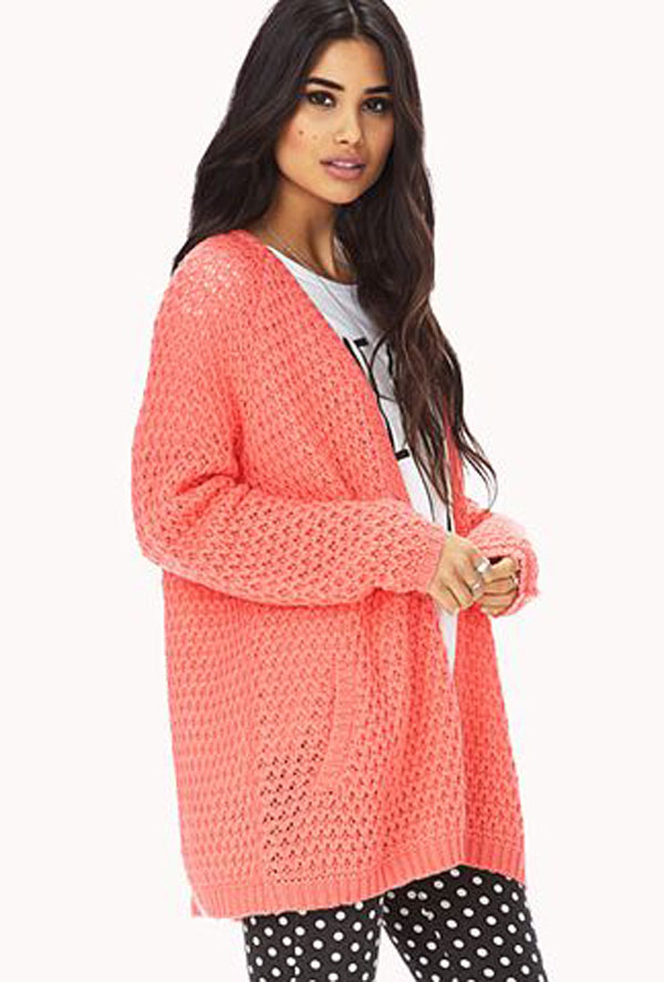 Forever 21 Coral Sweater