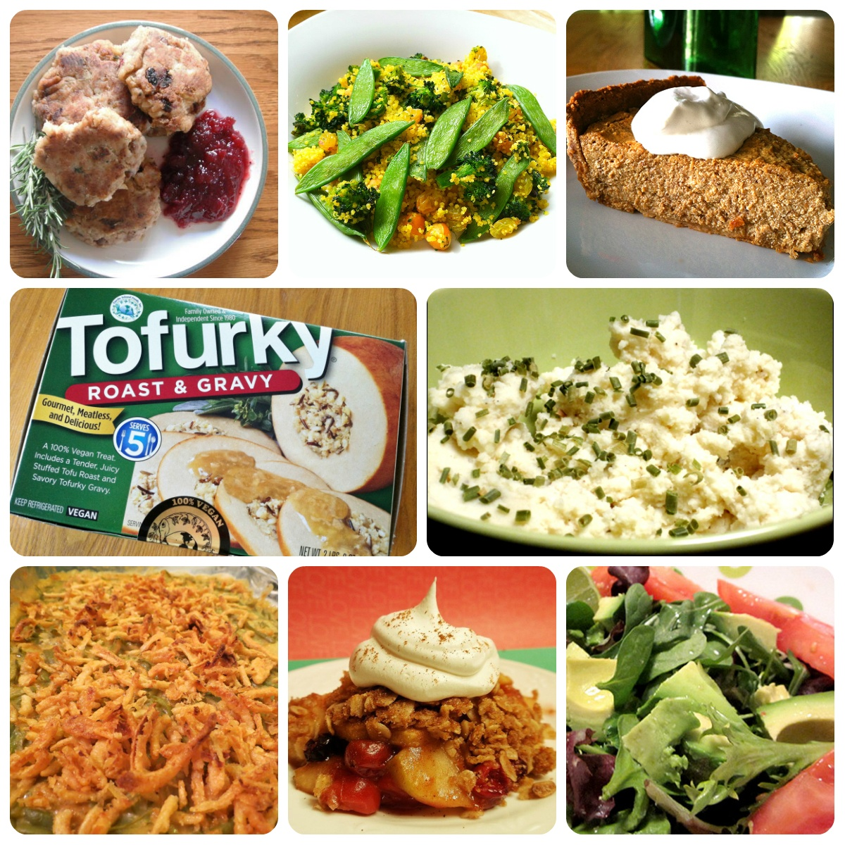 vegan stuffing tofurky thanksgiving dessert