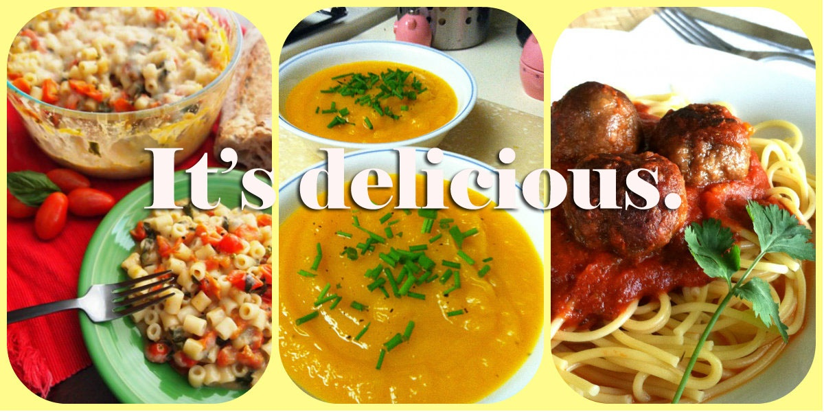 delicious-food-collage-text