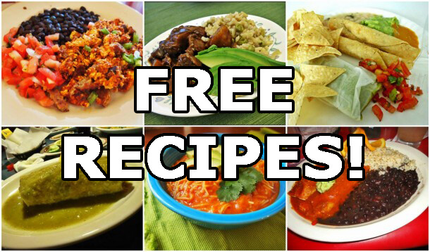 free recipes mexican