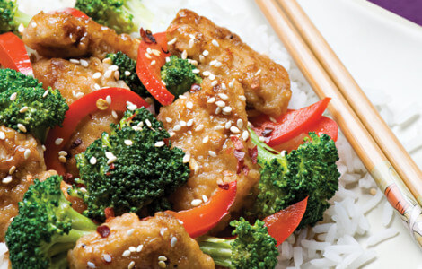 gardein mandarin orange chicken stirfry