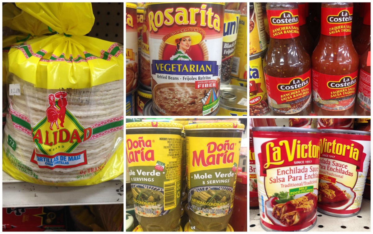 grocery store vegan mexican options