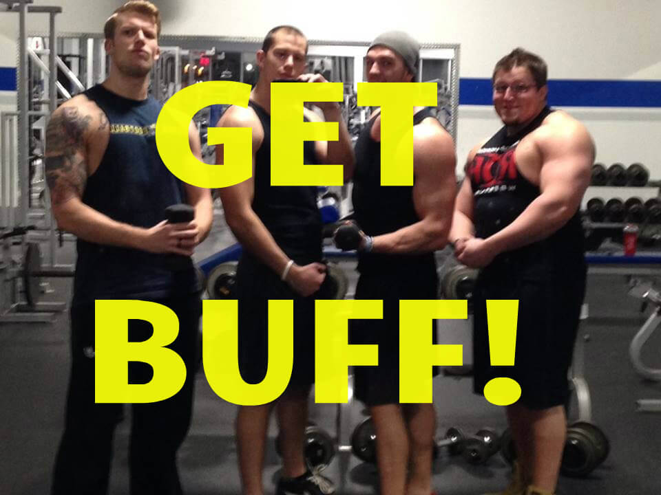 Buff guys gym