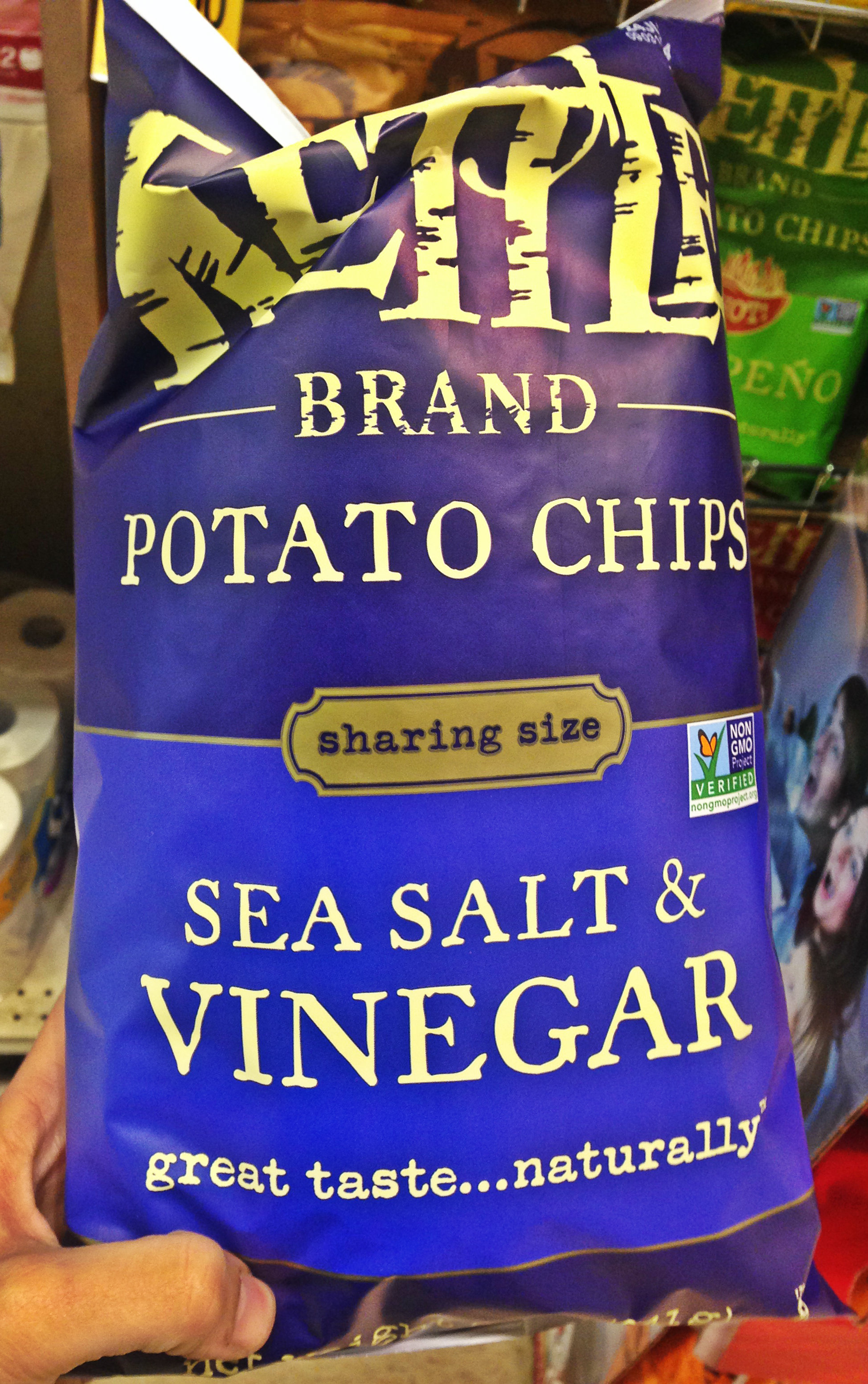 vegan salt vinegar chips