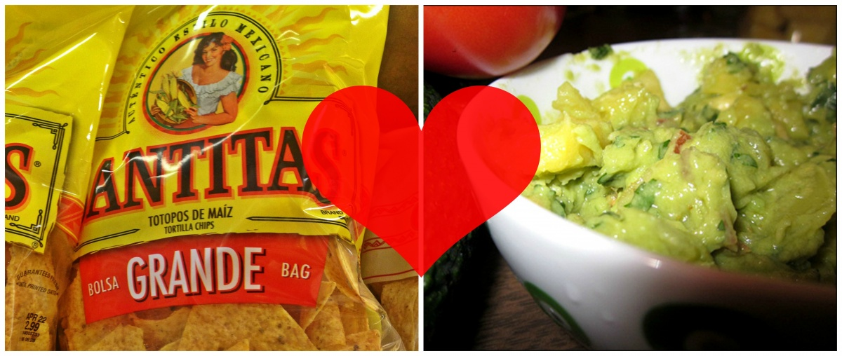 tortilla chips and guac