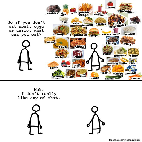 vegan sidekick comic