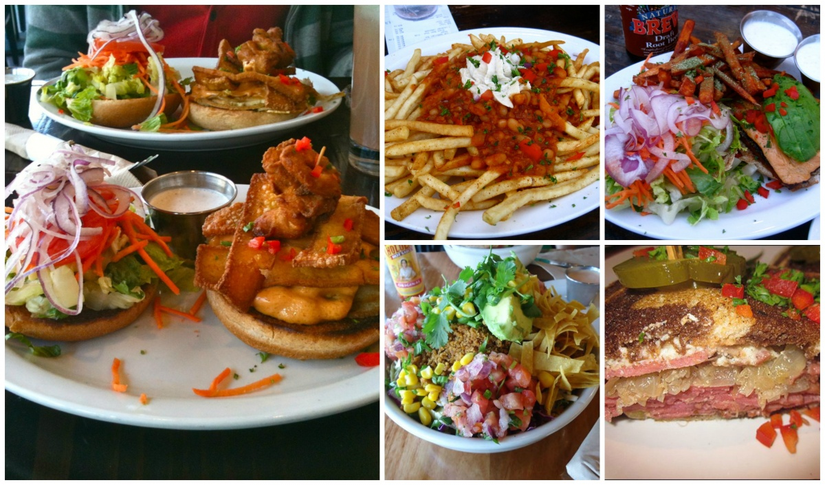 native foods collage