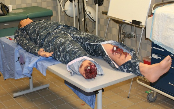 military trauma training human simulator 2
